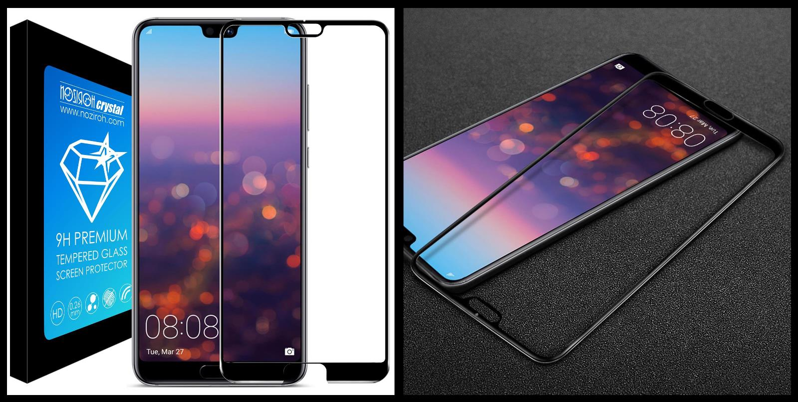 noziroh-crystal-huawei-p20-tempered-glass-9h-3d-shockproof-scratchproof-black
