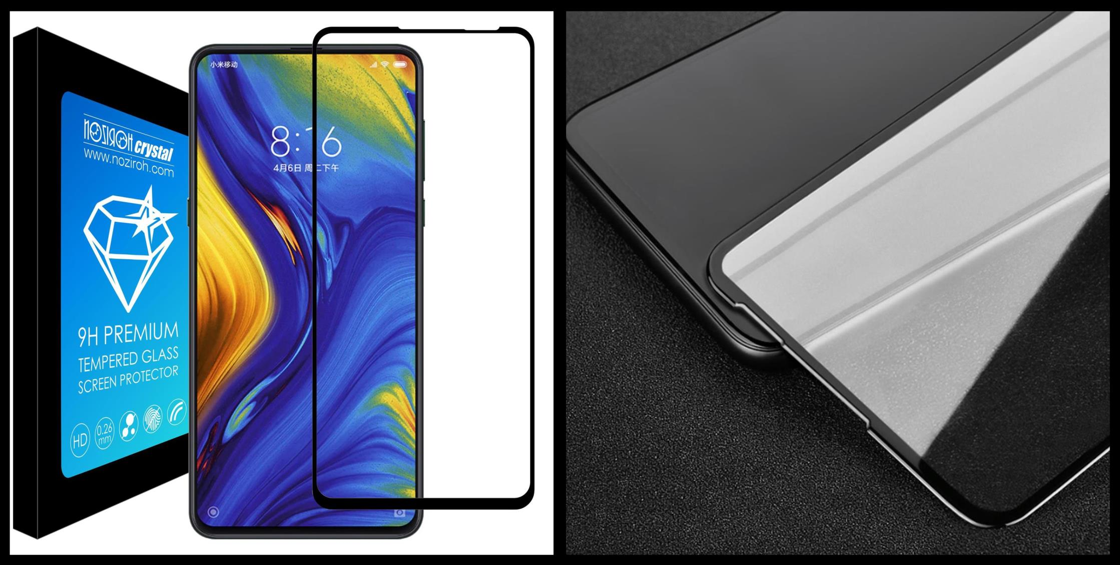 noziroh-crystal-xiaomi-mi-mix-3-tempered-glass-9h-3d-shockproof-scratchproof-black