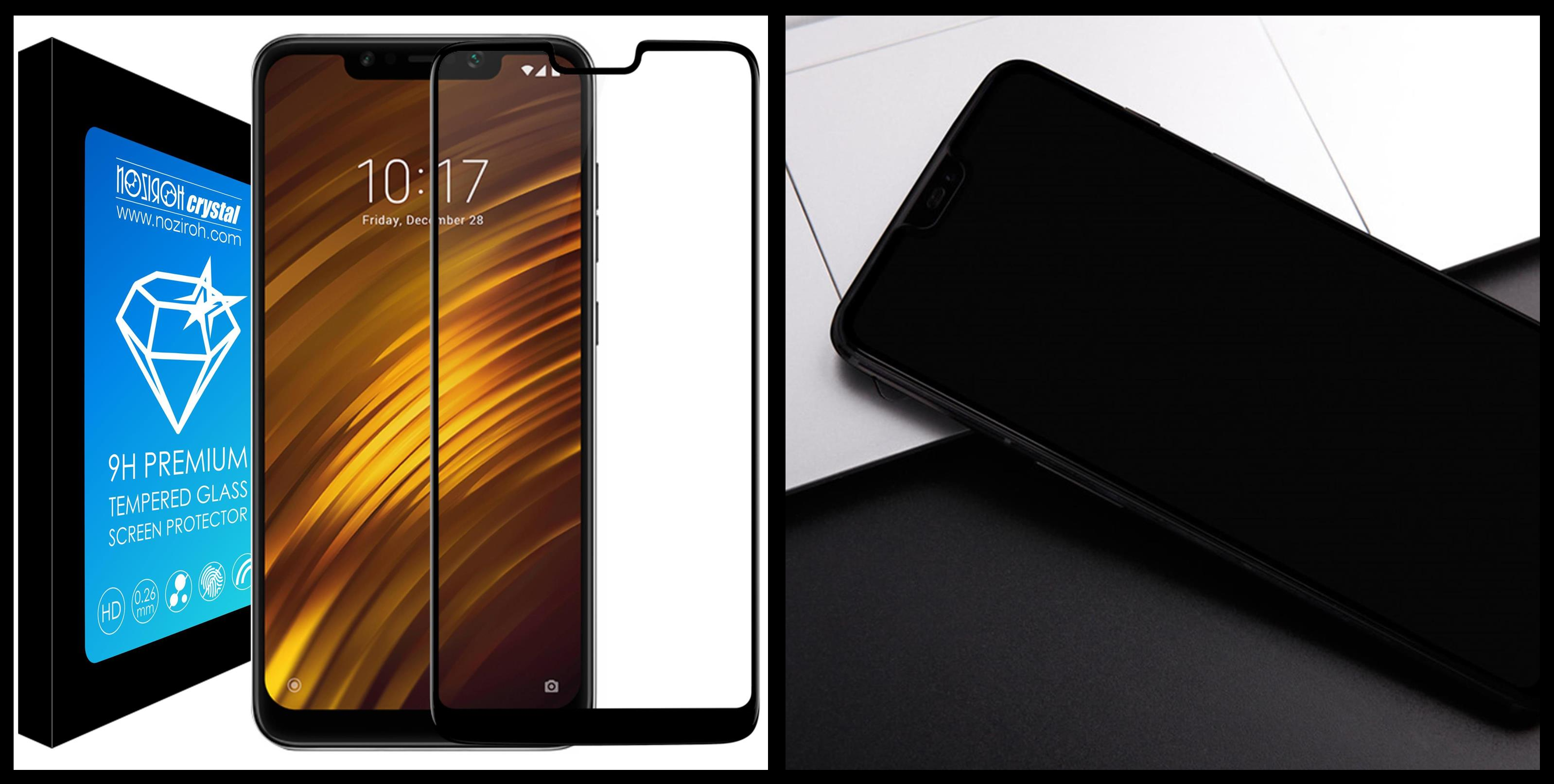 noziroh-crystal-xiaomi-pocophone-f1-tempered-glass-9h-3d-shockproof-scratchproof-black