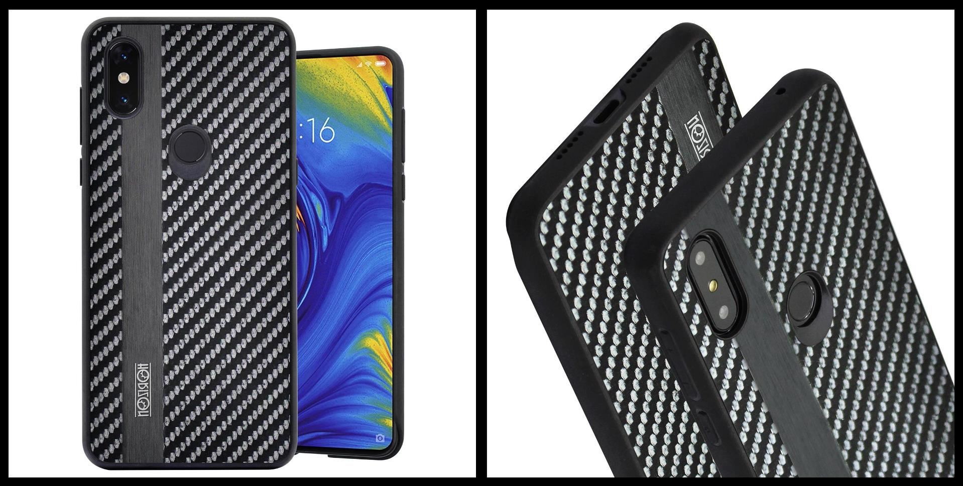 noziroh-carbon-xiaomi-mi-mix-3-cover-case-shockproof-dark-design-black