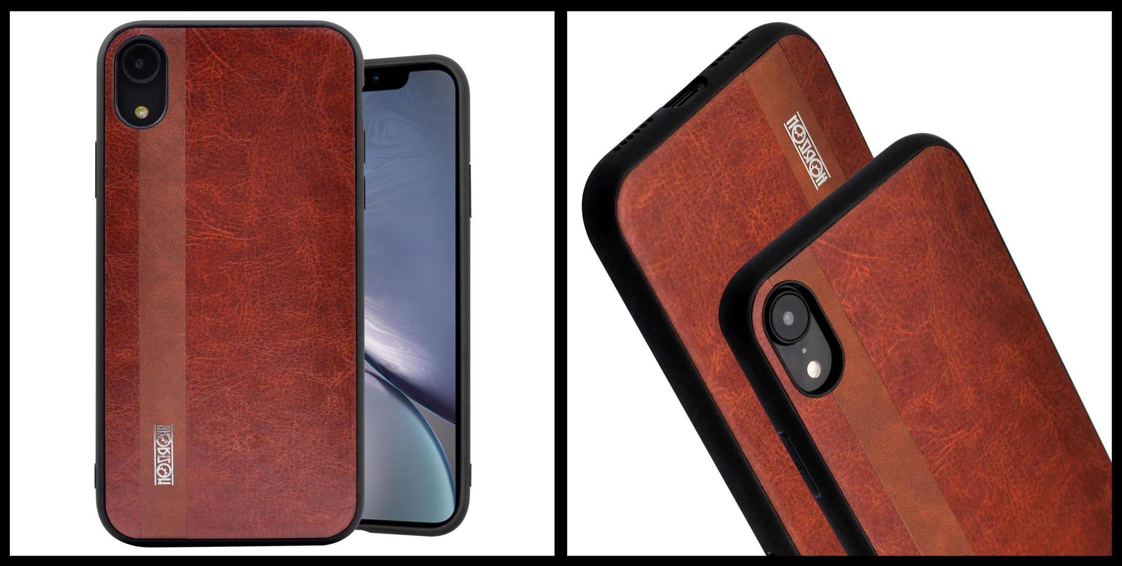 noziroh-leather-iphone-xr-cover-case-shockproof-slim-design-brown-black