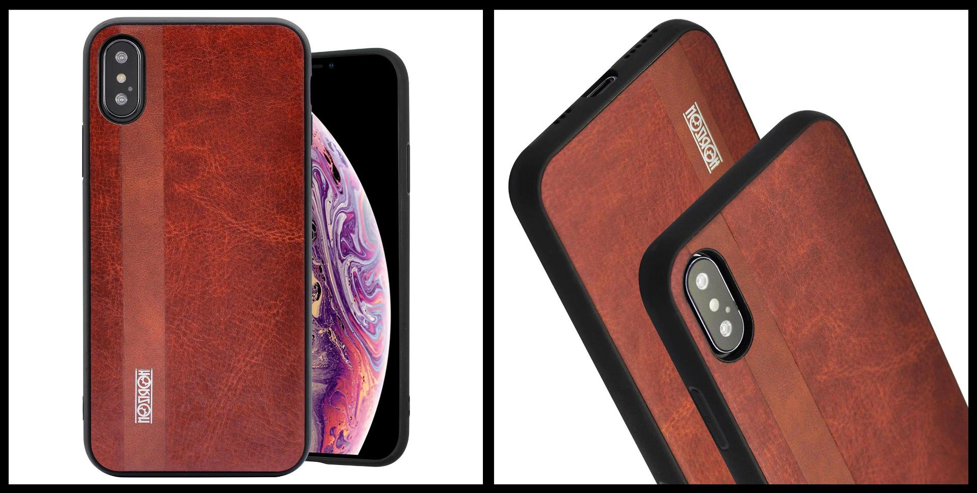 noziroh-leather-iphone-xs-max-cover-case-shockproof-slim-design-brown-black