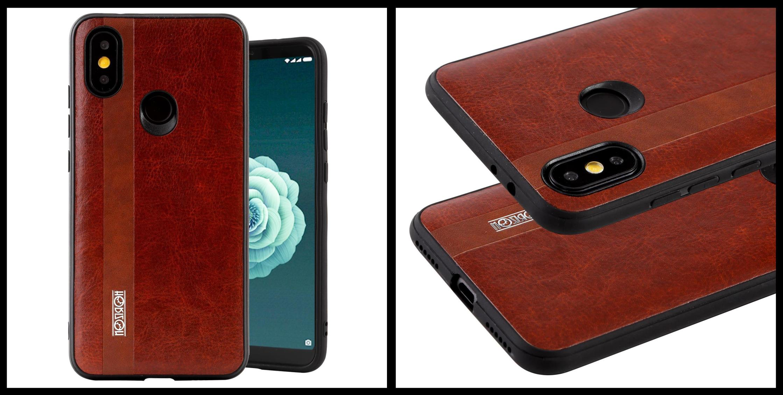 noziroh-leather-xiaomi-mi-a2-mi6x-cover-case-shockproof-slim-design-brown-black