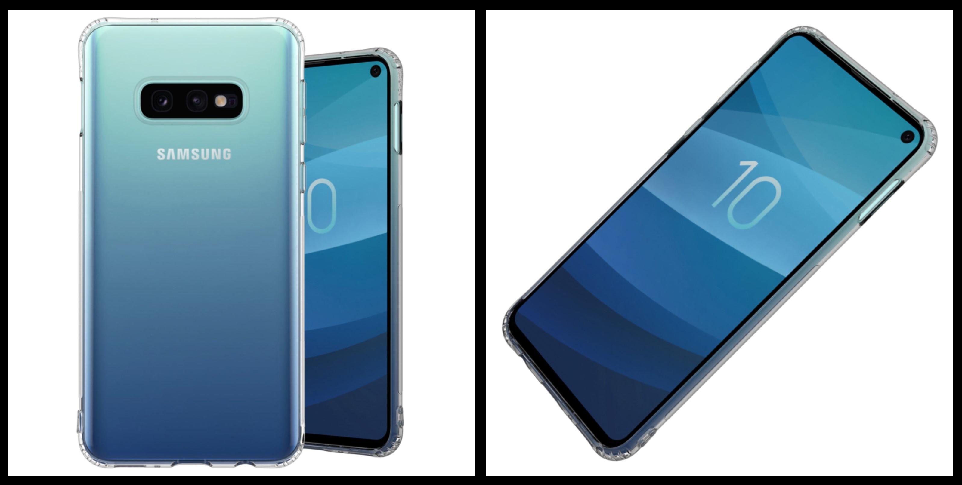 noziroh slim samsung galaxy s10e cover case silicone gel tpu design transparent